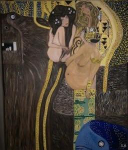 My version of Gustav Klimt